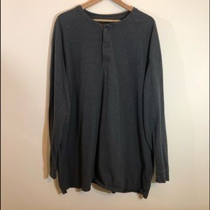 Henley Long Sleeve Shirt 3XL By Foundry